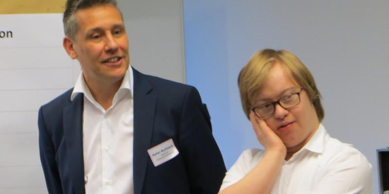 Stefan Burkhardt und Paul Spitzek sind die Referenten der Veranstaltung.